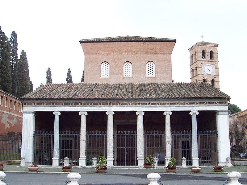 File:San Lorenzo fuori le mura - facade.jpg