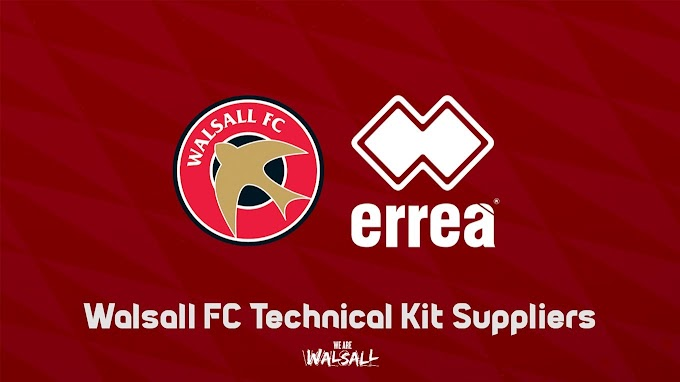 Walsall's 2017/18 Home and Away Kits Have Been Revealed