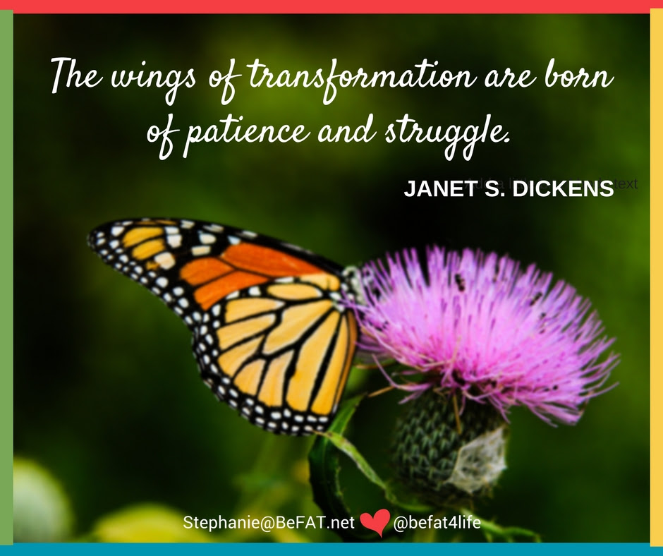 Be The Butterfly Transformation Inspirational Story And Quote