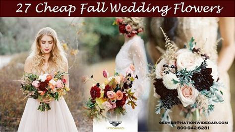 27 Cheap Fall Wedding Flowers   800 942 6281