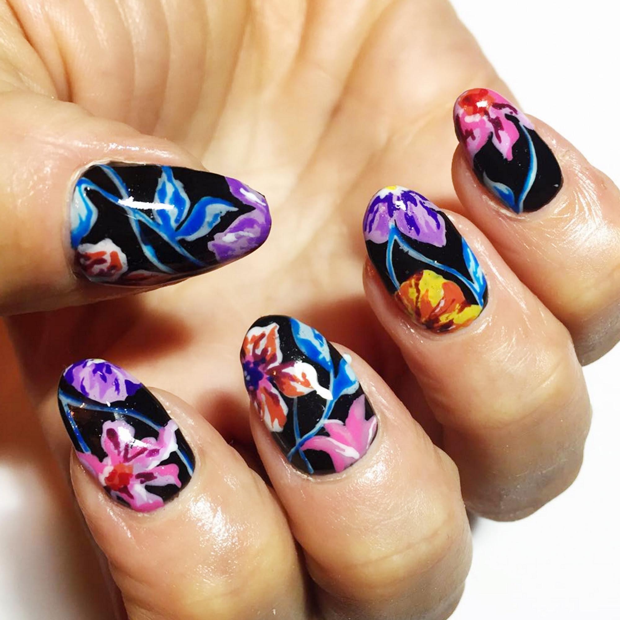 12 Cool Summer Nail Art Designs - Easy Summer Manicure Ideas