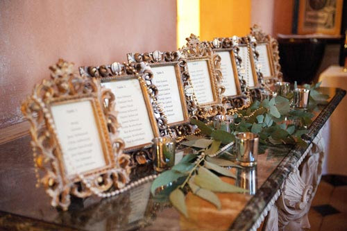 Finishing Touches Table Plan Inspiration