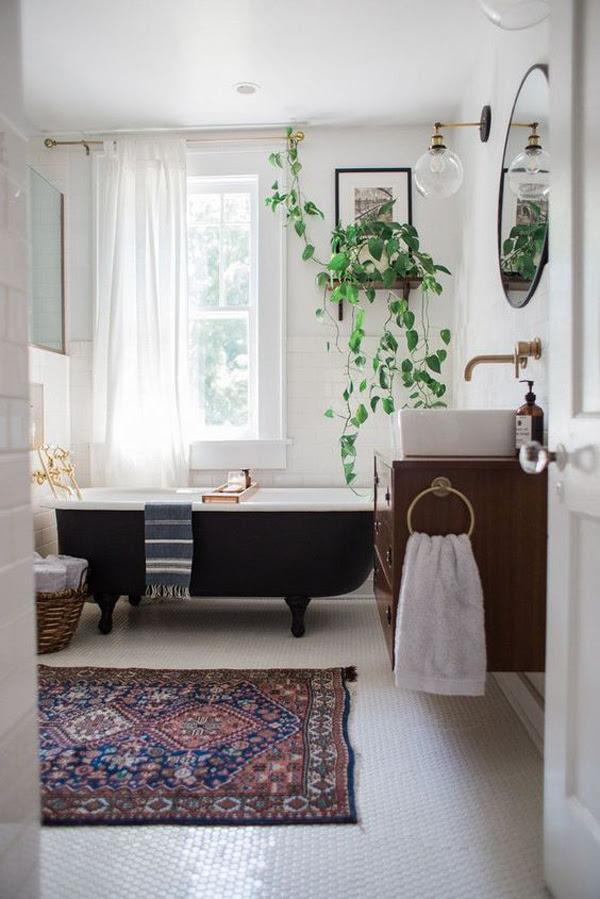 20 Chic And Minimalist Boho Bathroom Design Ideas ...