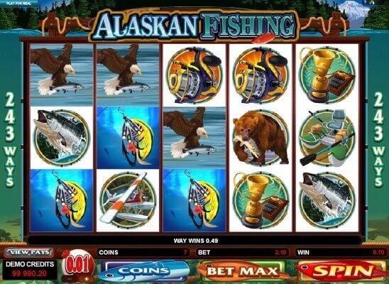 Далеко не все могут отправиться отдохнуть на рыбалку, не говоря уже о вылазке в далёкую Аляску.Игровой автомат Alaskan Fishing позволит .Шали