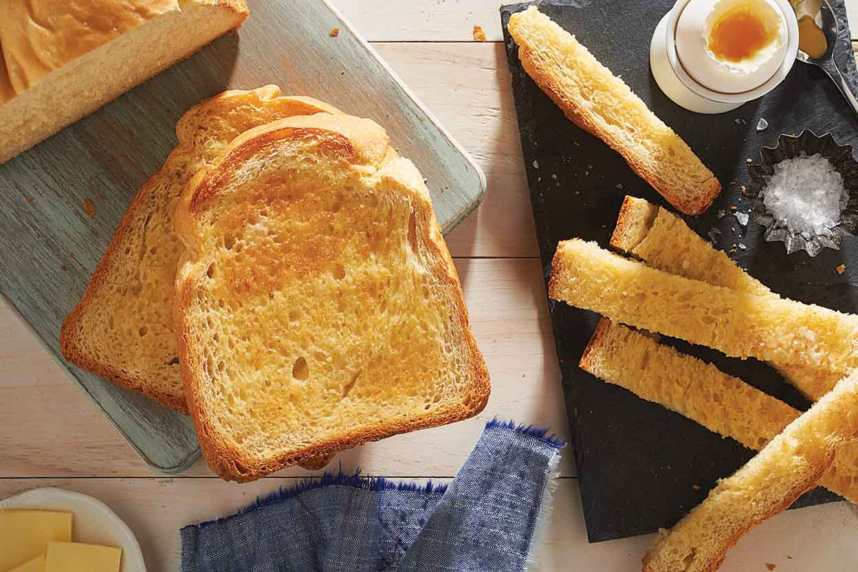 White Breakfast Bread Recipe   King Arthur Flour
