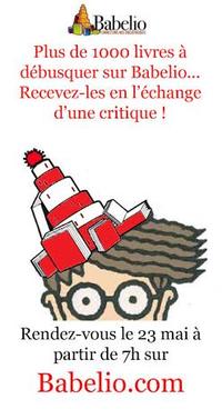 Masse Critique : recevez un livre en l'échange d'une critique