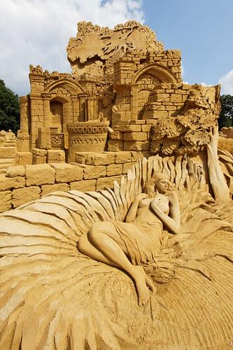 Zandsculptuur Festival 2010