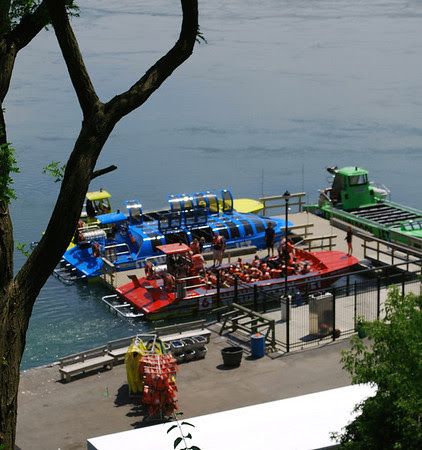 Niagara-on-the-Lake location of the Whirlpool Jet Boat Tours.