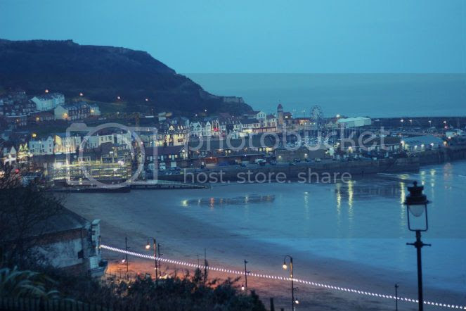 scarborough south bay at night