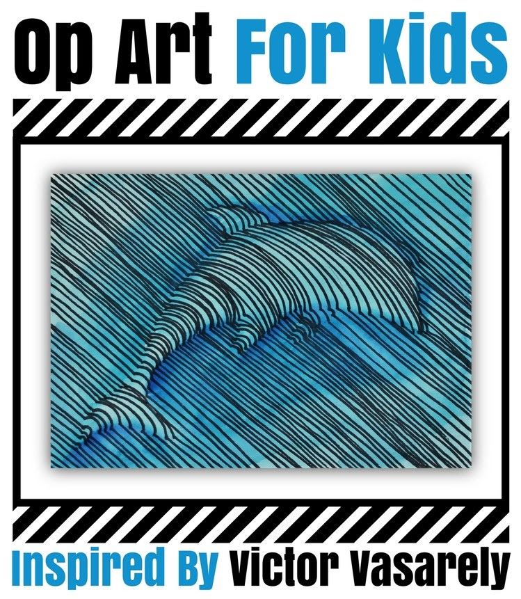 Op Art For Kids Cover