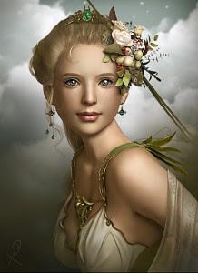 Demeter (Ceres) Greek Goddess - Art Picture