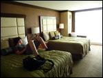 Onze kamer in het Seneca