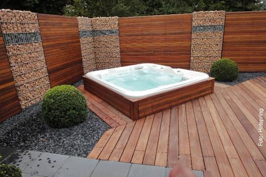Whirlpool versenkt - Einbau whirlpool outdoor ...