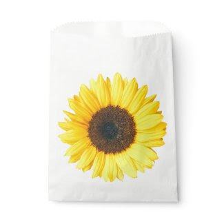 Sunflower Favor Bag