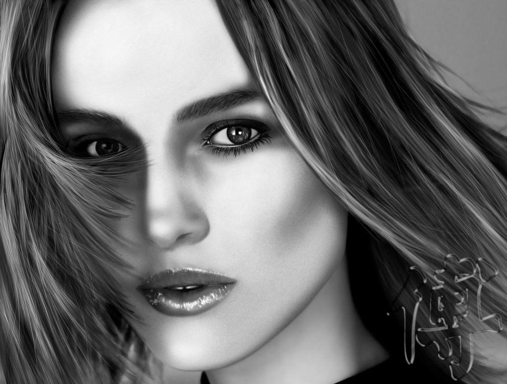 40 obras-primas da pintura digital de celebridades 11