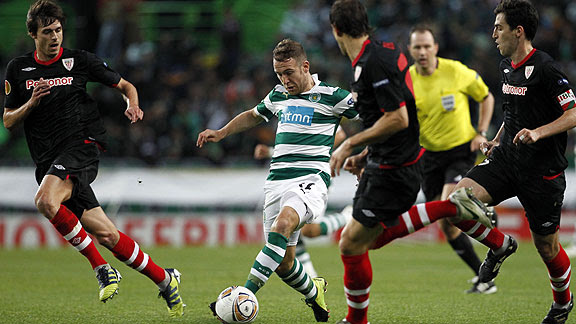 SPORTING DE LISBOA 2 - ATHLETIC DE BILBAO 1