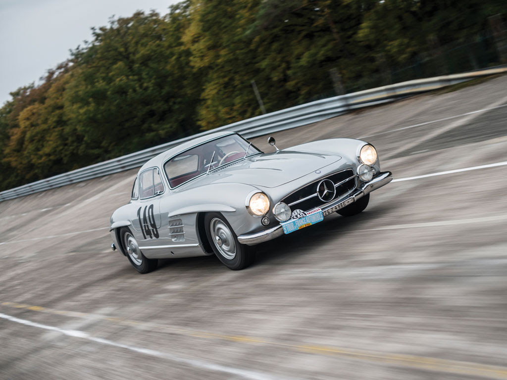 For Sale: The Mercedes-Benz 300 SL Gullwing Race Car Of ...