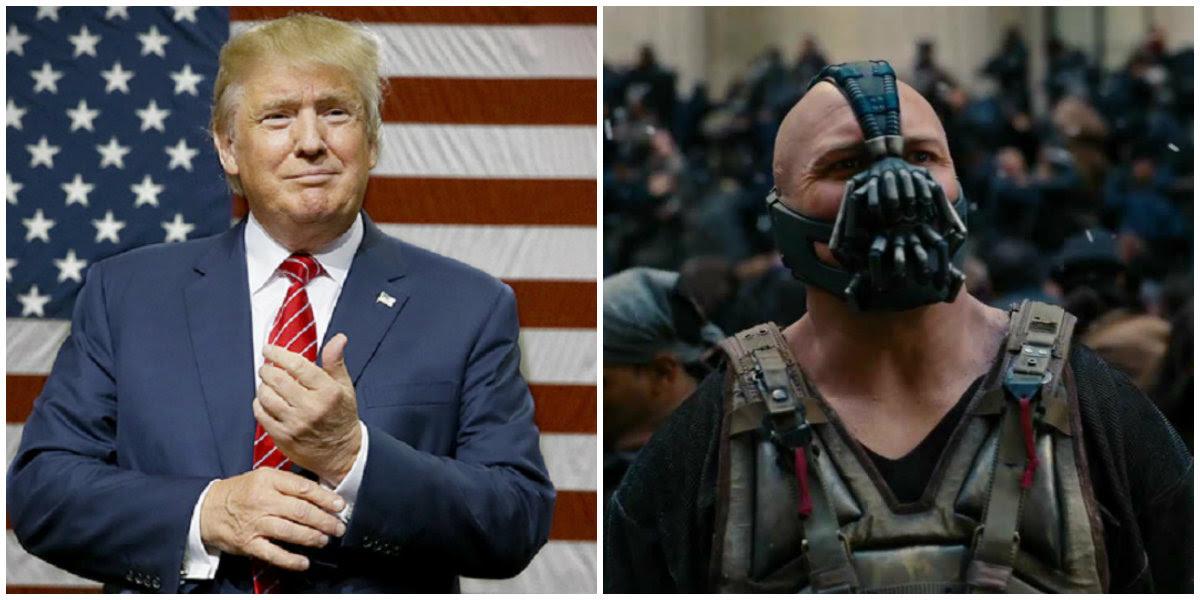 Donald Trump Diz Por Acidente Exatamente A Mesma Frase De Bane Em