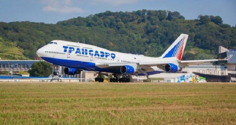 Transaero B747 aterrando 800dpi