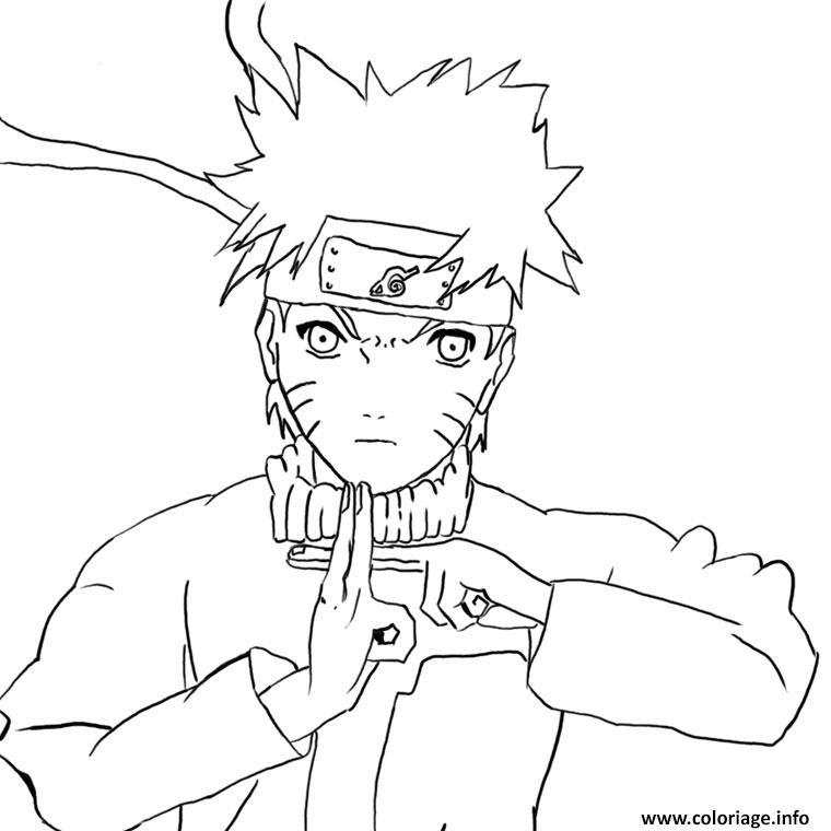 Coloriage Manga Naruto 80 Jecoloriecom