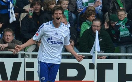 Huntelaar, fan de Messi