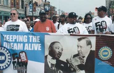 50th Anniversary Commemorative Freedom Walk in Detroit last month.