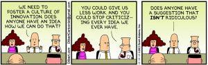 Dilbert VS the Innovation Consultant