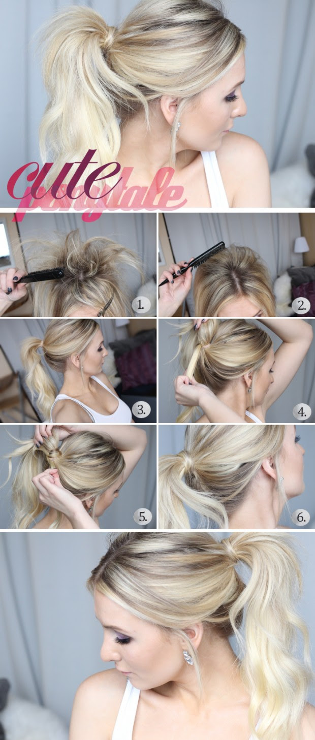 20 Hair Tutorials You Should Not Miss Cute Easy Hairstyles