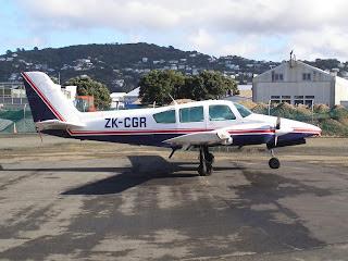Gulfstream American GA-7 Cougar ZK-CGR