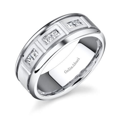 Gelin Abaci Amore Men's Wedding Band #C 1355   Diamond