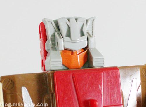 Transformers Chromedome G1 - modo robot