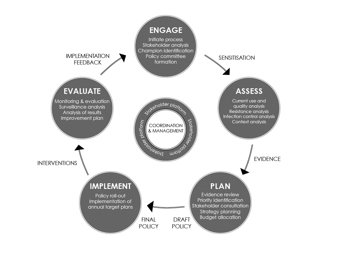 Develop and implement plan - Policy - ReAct