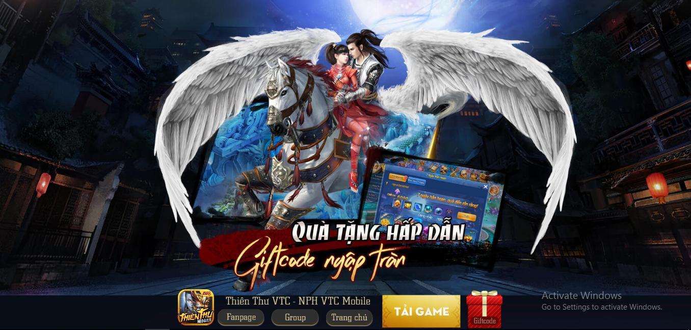 game thiên thư mobile của vtc game