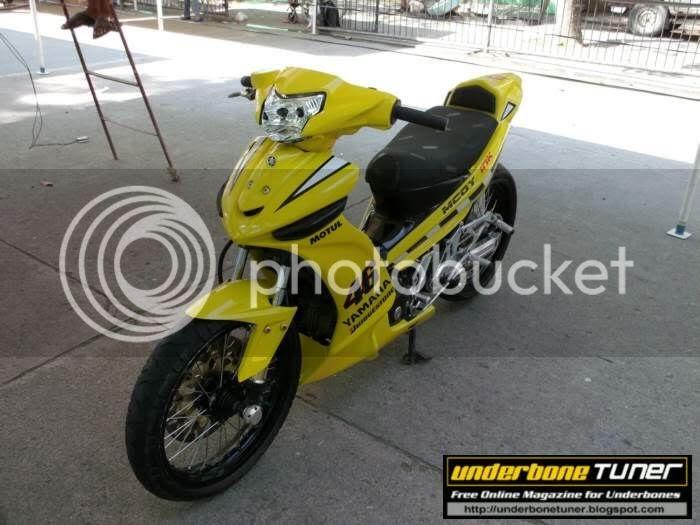 Underbone Tuner: Yamaha Vega Force : Customized