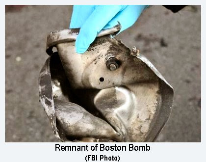 Boston Bomb FBI Photo