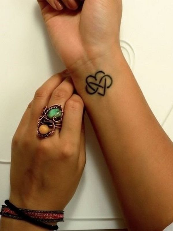 Infinity Tattoo Design For Women Wrist