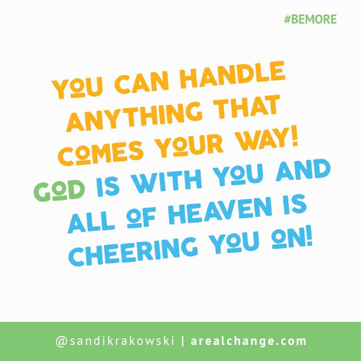 All Of Heaven Is Cheering You On Get Into Agreement With God You