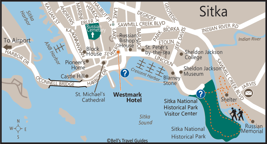 Sitka Map