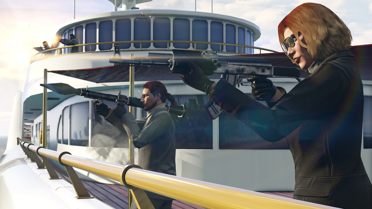 GTA Online shows no signs of stopping with its gunrunning update next month screenshot