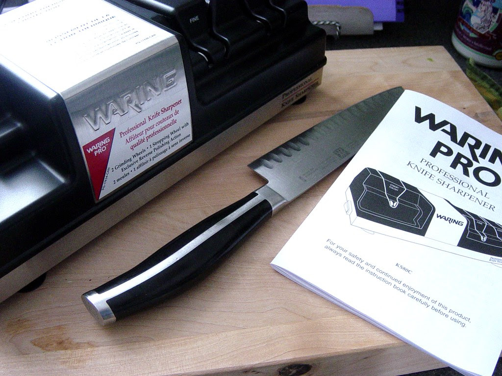 Product Review Waring Professional Knife Sharpening System Suzie The Foodie