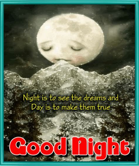 A Good Dream Comes  Free Good Night eCards, Greeting