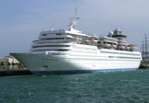MV Thomson Destiny, one of the many Louis ship...