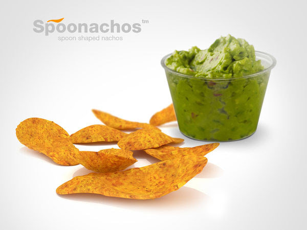 Spoonachos Spoon Shaped Nachos Chips Packaging design 2 30+ Crispy Potato Chips Packaging Design Ideas