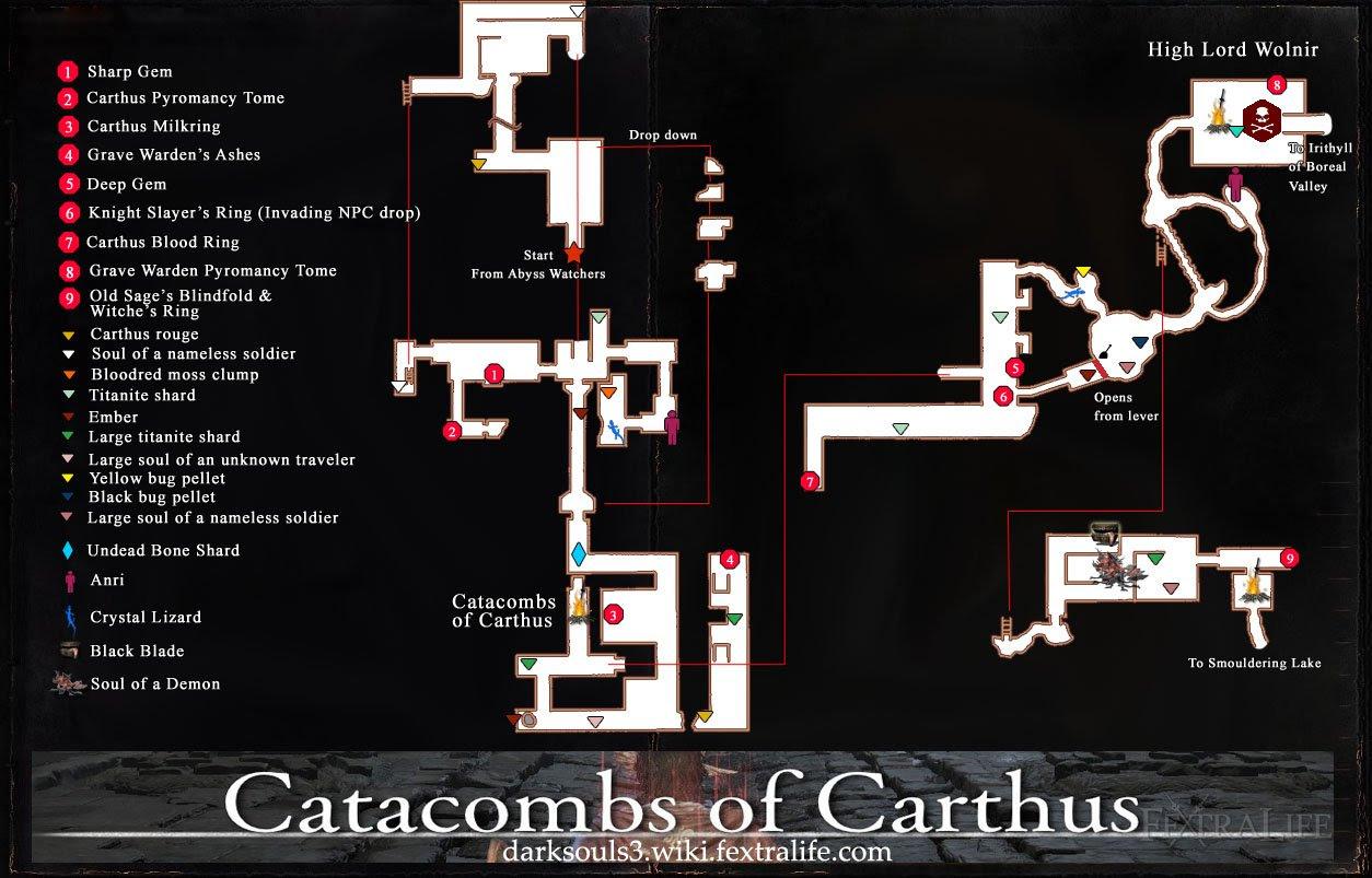 Catacombs of Carthus | Dark Souls 3 Wiki