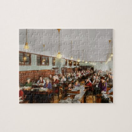 Accountant - Workaholic 1923 Jigsaw Puzzle