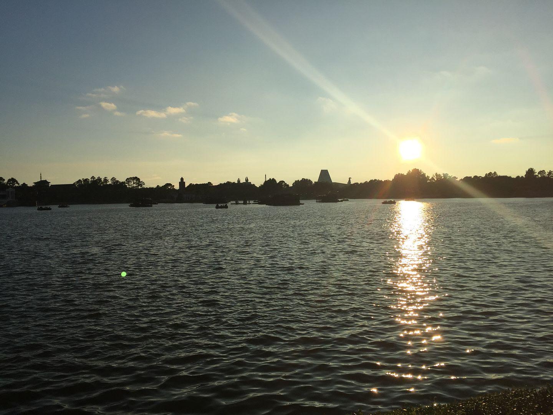 Epcot at Sunset