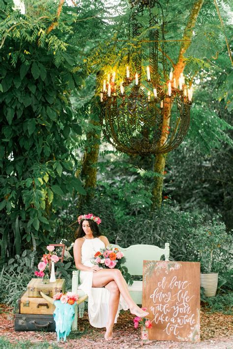 Eclectic Pink & Orange Boho Wedding Ideas   Every Last Detail