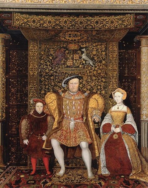 Arquivo: Família de Henry VIII c 1545 detail.jpg