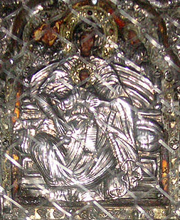 The Saidnaya icon of the Mother of God. According to tradition, this icon was painted by the Apostle Luke.