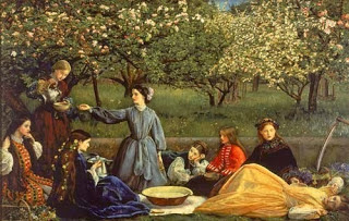 spring Millais 1859
